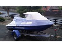 2002 Seadoo GTX Di for breaking or rebuild, trailer not for sale with it.