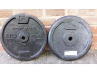 20KG RUBBER WEIGHT PLATES