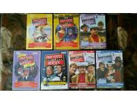 7 ONLY FOOLS AND HORSES DVD'S
