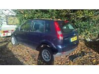 breaking a nice ford fiesta 2003 five door all of the parts are available