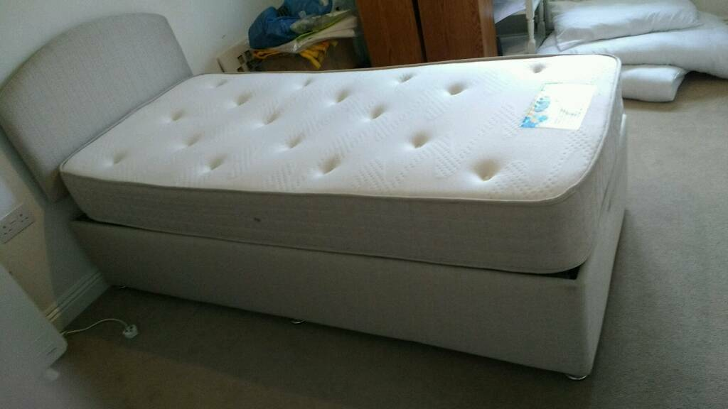 Single bed & mattress