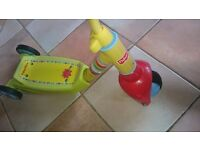 Fisher-Price SCOOTER (Grow With Me 3 to 2 wheels in very good condition