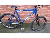 Mens mongoose mountain bike 27 speed disc breaks nice bike bargain