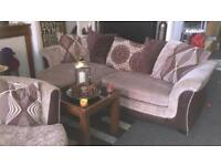 DFS sofa and cuddle chair £275 can be delivered