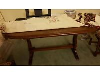 Dining Table with 4 accompanying chairs for sale!!