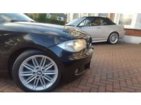BMW 1SERIES, 1.6, MSPORT, BLACK,06 Plate, 5 Door, Full service History, Low mileage, 4600 ONO