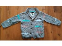 Bundle of Star wars jacket and M&S Cardigan Age 4-5