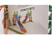 Feber slides / tunnels / electric ride on