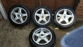 """Mini cooper wheels 16"""" immac con"""