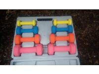 10 kg soft finish dumbell set