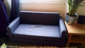 Free Navy 2 seater sofa bed
