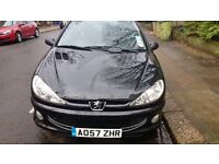 PEUGEOT 206 [ GENUINE LOW MILAGE, 56000, 2 PREVIOUS OWNERS ONLY]