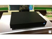 XBOX ONE X ,blue shadow pad,games