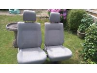 VW T4 CARVELLE SINGLE REAR SEATS X 2