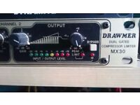 Drawmer MX30 dual compressor £65
