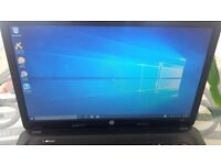 HP 250 laptop with fresh copy of win 10. Hardly used.
