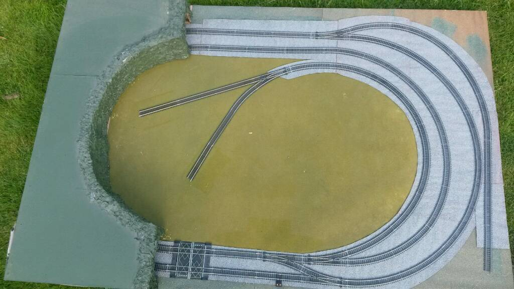 Hornby Layout with Tunnel