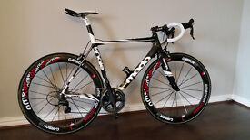 2012 Moda Finale 56cm Full Carbon Road Bike, Custom Build, £4.5k+