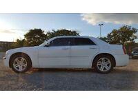 White Chrysler for sale! Bargain