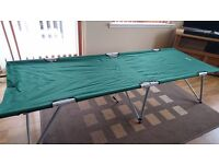 HiGear folding camp bed