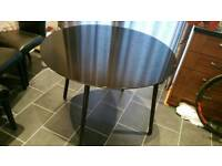 Black Round Glass Ikea Kitchen Table