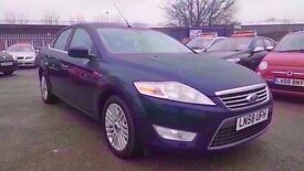 FORD MONDEO 2.0 TDCI 140 GHIA 6 SPEED 2009 / FULL SERVICE HISTORY / HPI CLEAR / 2 KEYS / 2 KEEPERS