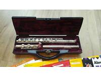 Buffet Crampon Silver Plated Flute 228 Copper Scale E & 6 Flute books