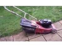 Mountfield Self Propelled Petrol Lawnmower With Grass Box