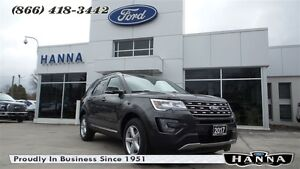 2017 Ford Explorer *NEW* XLT*TECHNOLOGY PKG*4WD *201A* 3.5L V6 G