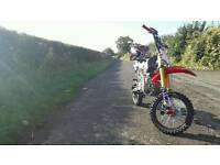 140cc Pitbike (not road legal)