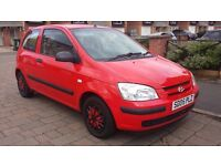 Hyundai Getz 1.1 Manual, 55000 Genuine Mileage, 10 Months MOT, HPI Clear, Drives Smoothly
