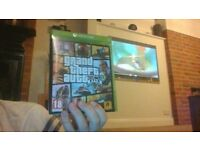 gta no scratches only played a few times { xbox one game }
