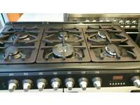 Cannon 100cm wide range cooker for sale. Free local delivery
