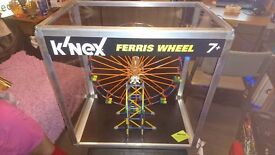 K'Nex Ferris Wheel 550mm Height Battery Operated Revolving Retail Display Model in Cabinet