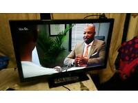 """32"""" Panasonics lcd TV HD ready with build in freeview."""