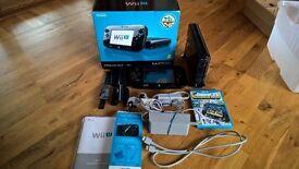 Nintendo Wii U 32GB Premium Pack - great condition, still in box with manuals, fantastic price!