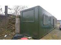 40 ft Insulated container with security door & windows.