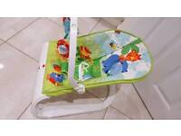 Fisher price rainforest comfort curve bouncer