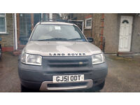 Low mileage 80k Land Rover FREELANDER 2001 (hard roof)
