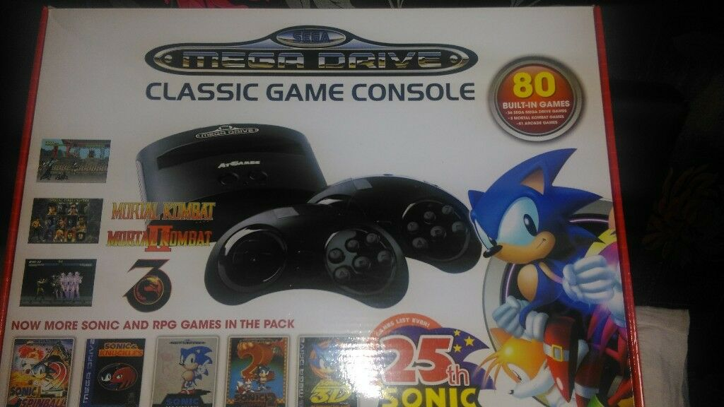 sega console with 80 built in games