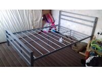*FREE *metal double bed frame