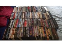180+ DVDs including all movie genres and TV box sets