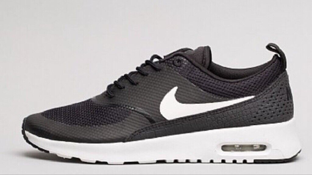 new product 3de85 c3ed7 Nike Womens Air Max Thea Trainer   Black  White size 5 exelent condition   worn only twice