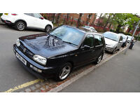 For sale 1997 VW Golf VR6 Black 5 door Automatic