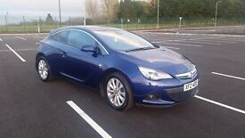 2014 VAUXHALL ASTRA GTC 1.7 SRI CDTI S/S EXCELLENT CONDITION (WITH NAVI UPGRADE)