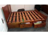King size Captains bed frame