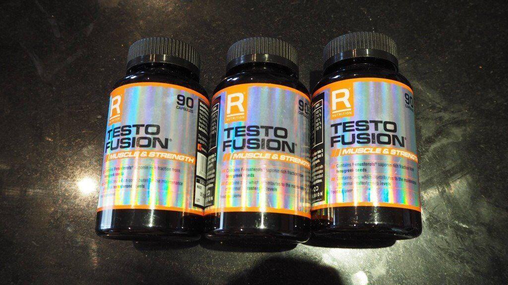 Reflex Testo Fusion Muscle & Size 90 Capsules