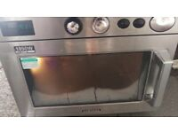 Samsung industral 1850w stainless steel microwave oven