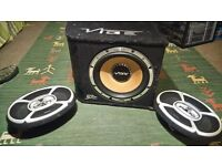10inch Vibe sub-woofer (1300W) with X-Plod amp (500W)