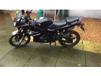 lexmoto xtr 125cc engine excellent learners bike, 2012 motd for 1 year,